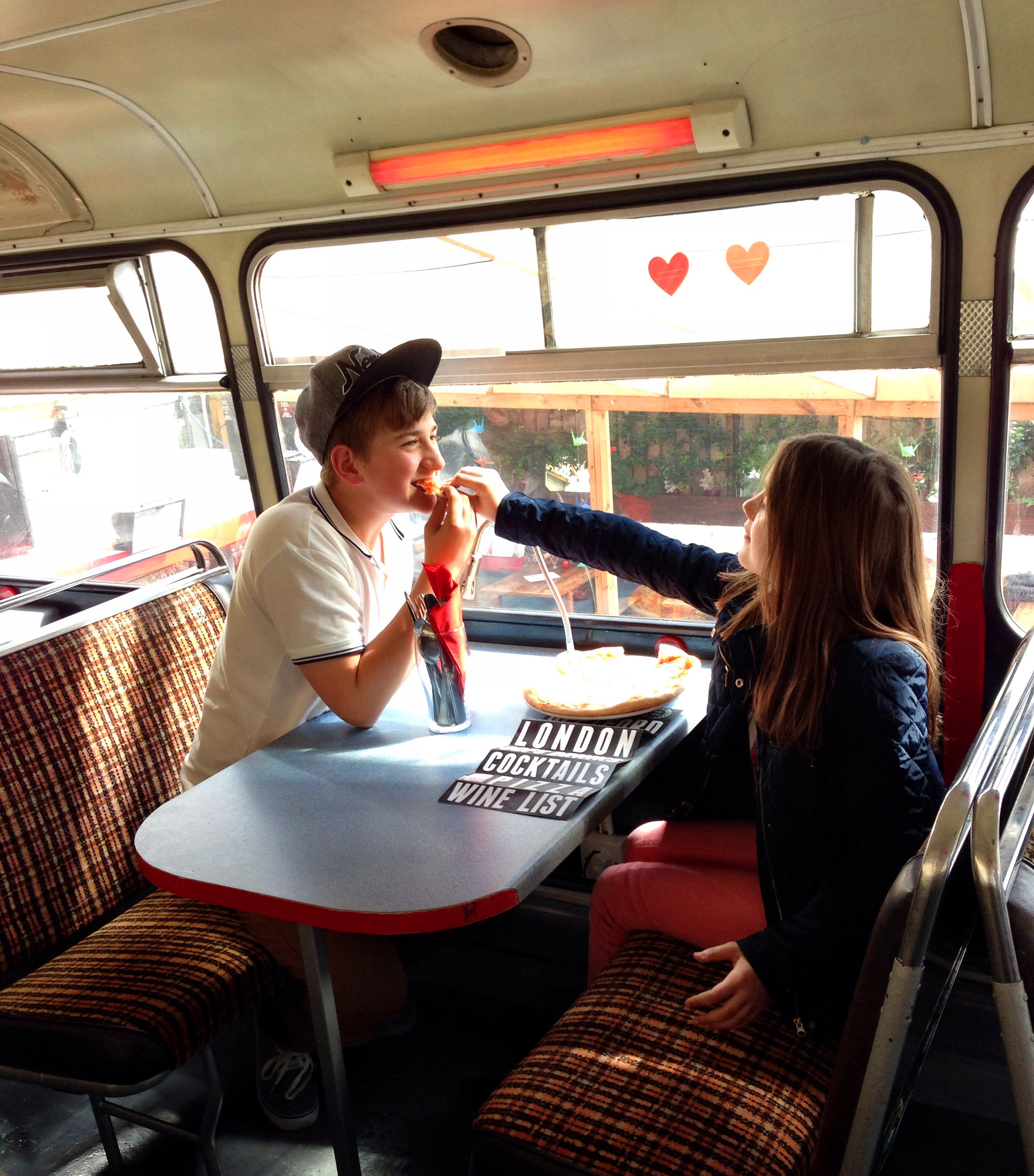 The Big Red Pizza Bus | Deptford | London | Kids | We Love Food, It's All We Eat