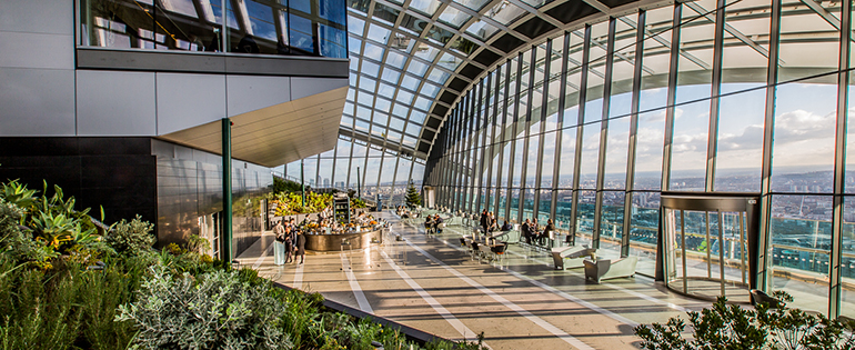 DARWIN BRASSERIE | THE SKY GARDEN INTERIOR | WE LOVE FOOD, IT'S ALL WE EAT