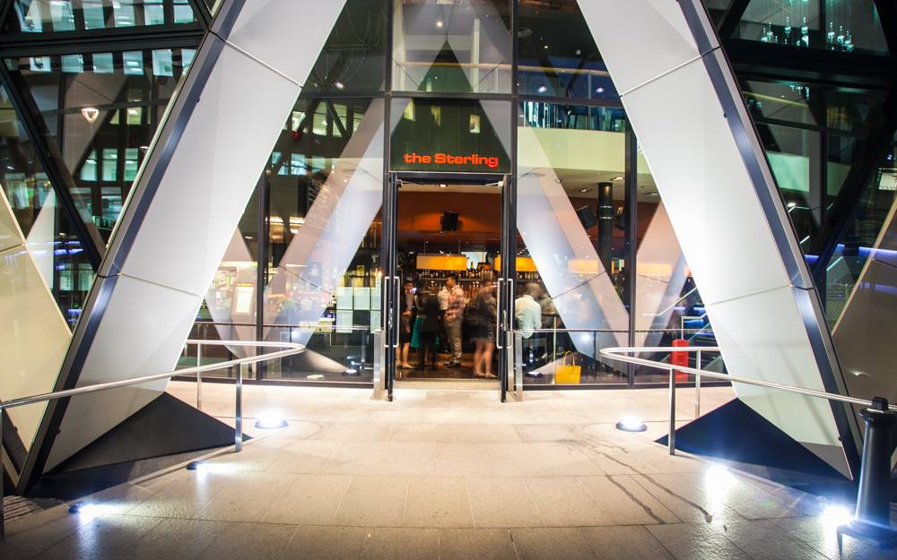 THE STERLING BAR | BALLS BROTHERS | THE GHERKIN | WE LOVE FOOD, IT'S ALL WE EAT