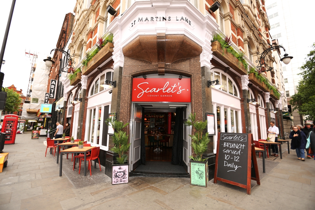 SCARLET'S COVENT GARDEN | WE LOVE FOOD, IT'S ALL WE EAT.