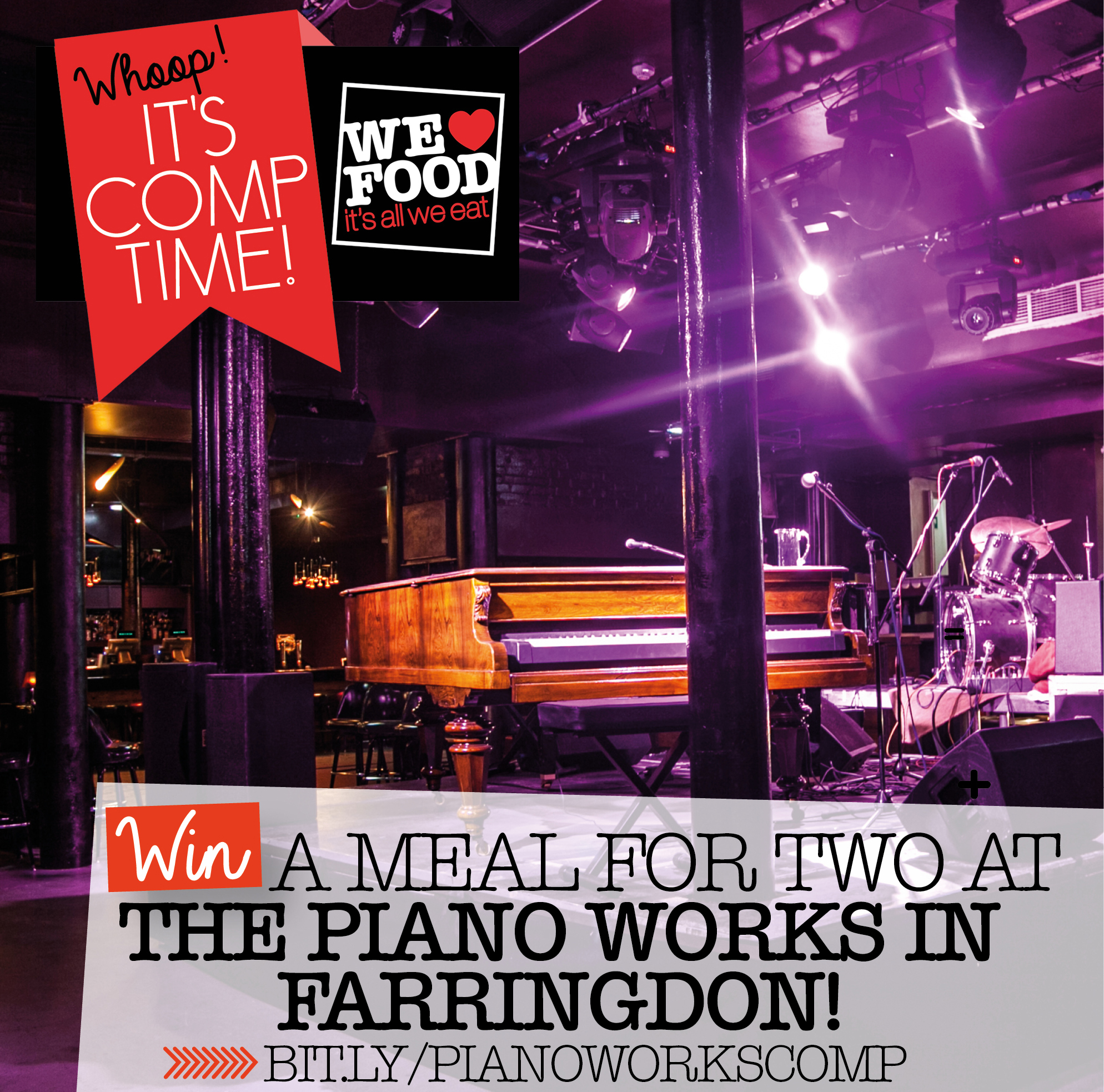 PIANO WORKS COMP | WE LOVE FOOD, IT'S ALL WE EAT