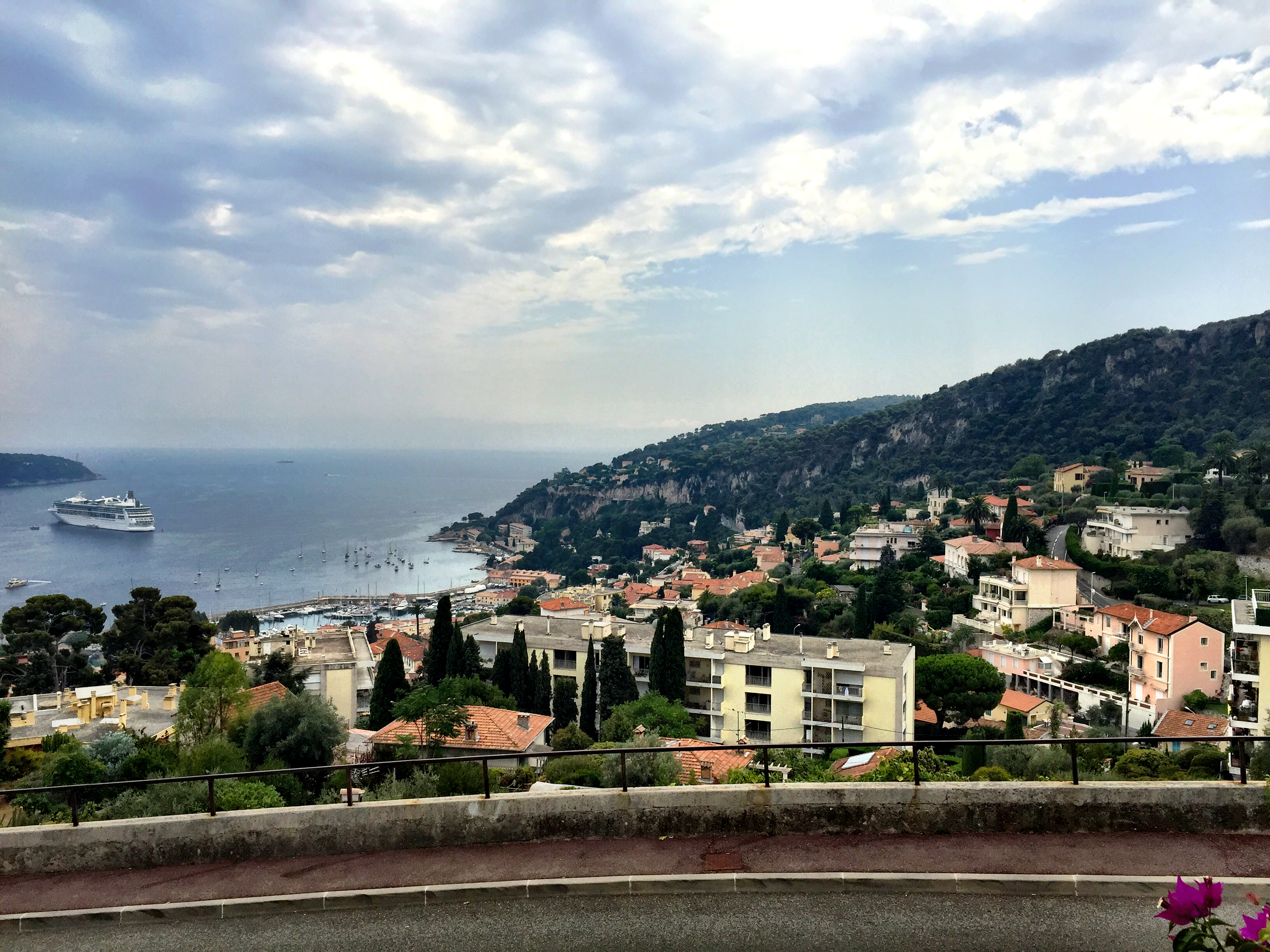 VILLEFRANCHE-SUR-MER | FRENCH RIVIERA | NICE FRANCE | VIEW | WE LOVE FOOD, IT'S ALL WE EAT