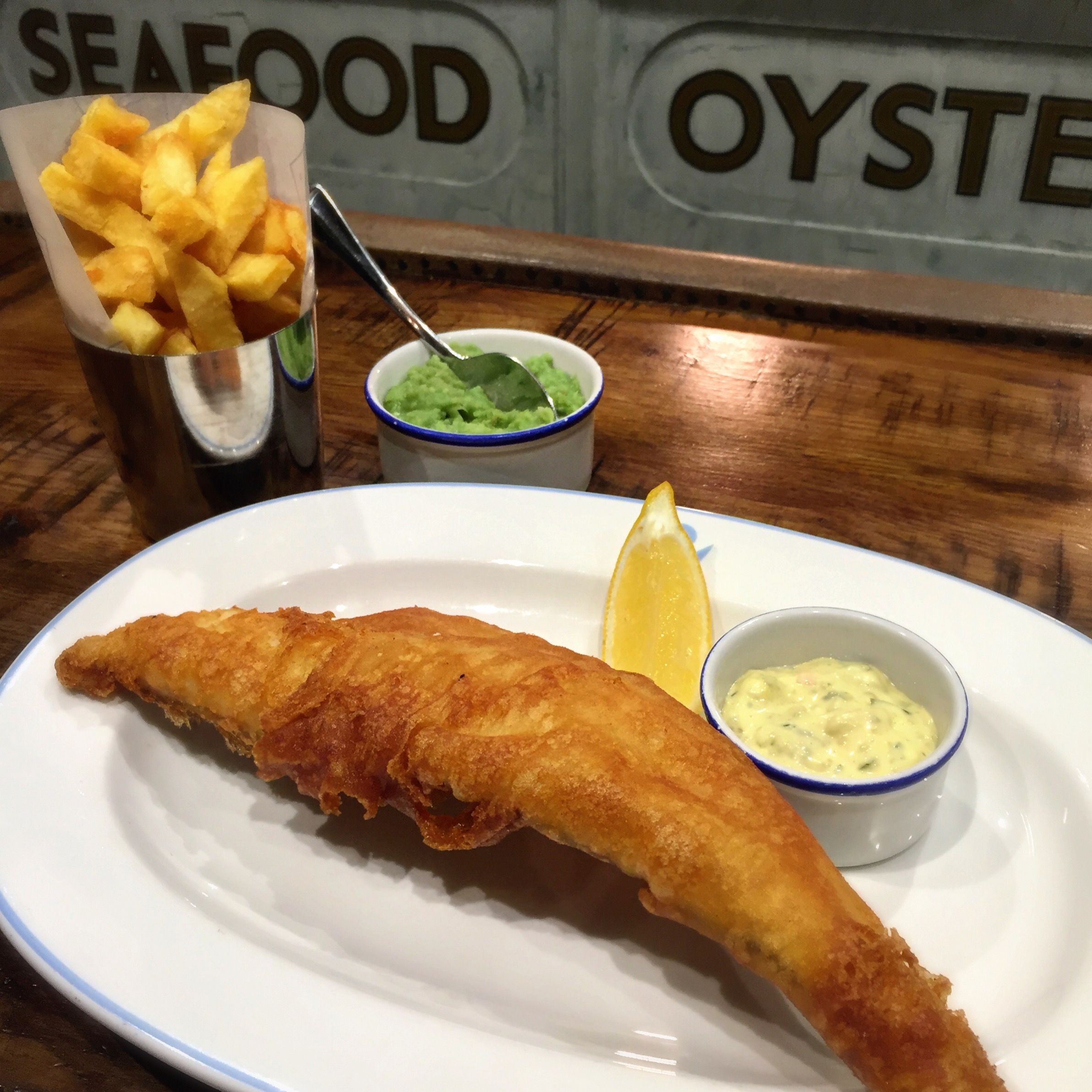 VINTAGE SALT | THE FISH AND CHIP SHOP | DES MCDONALD | LIVERPOOL STREET | WE LOVE FOOD, IT'S ALL WE EAT