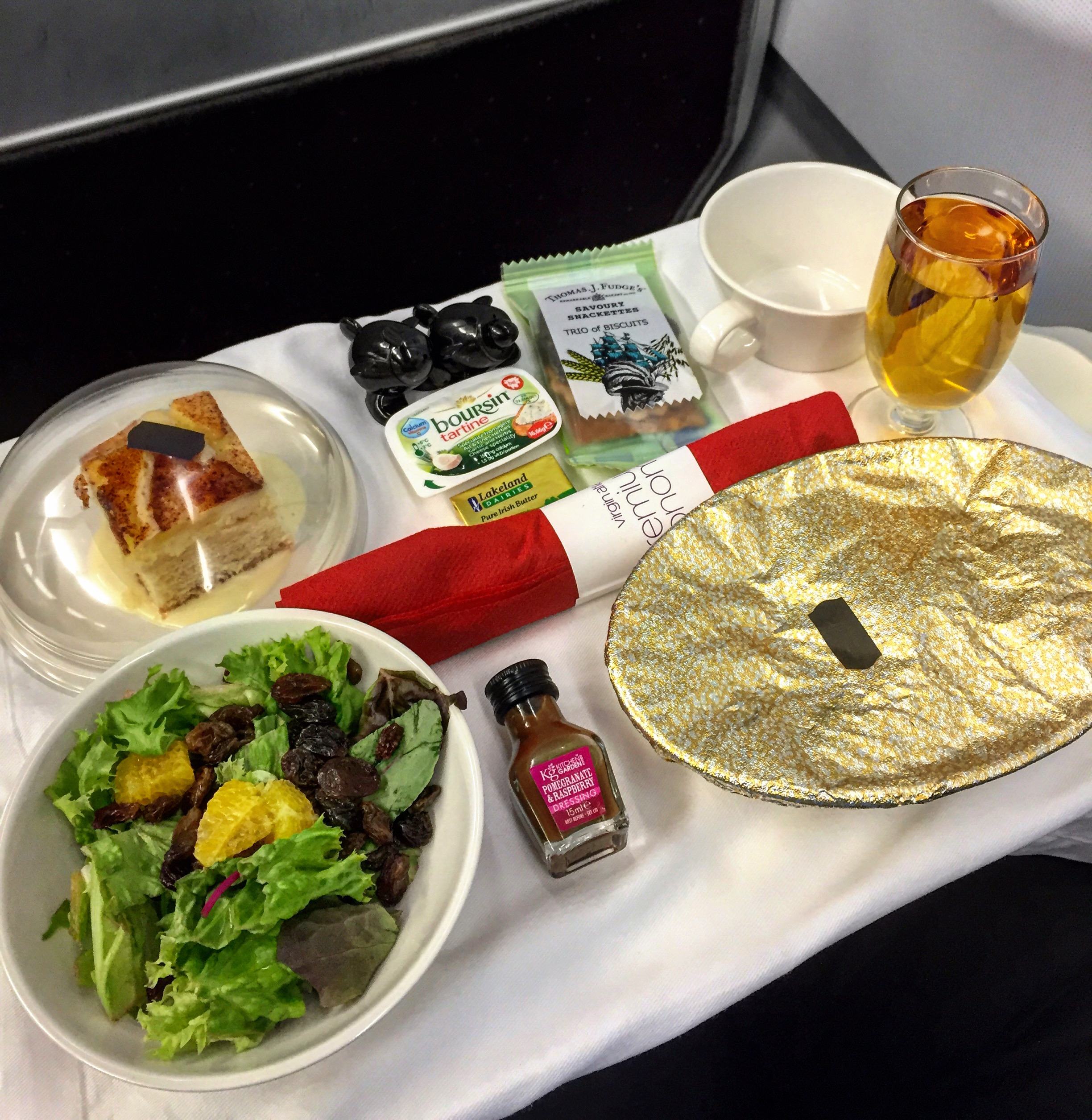VIRGIN ATLANTIC | AEROPLANE FOOD | WE LOVE FOOD, IT'S ALL WE EAT2