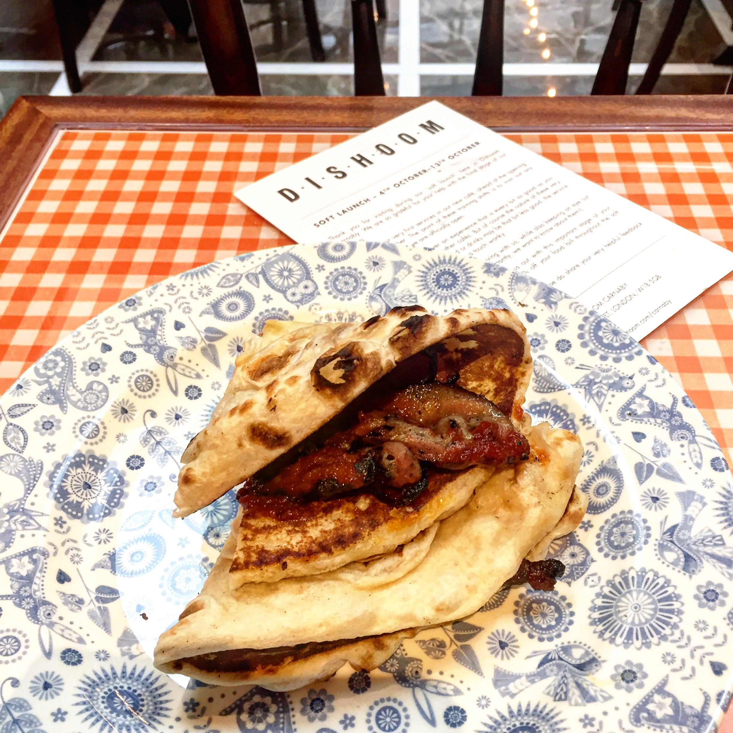 DISHOOM | CARNABY STREET | BACON NAAN | DISHOOM CARNABY | WE LOVE FOOD, IT'S ALL WE EAT