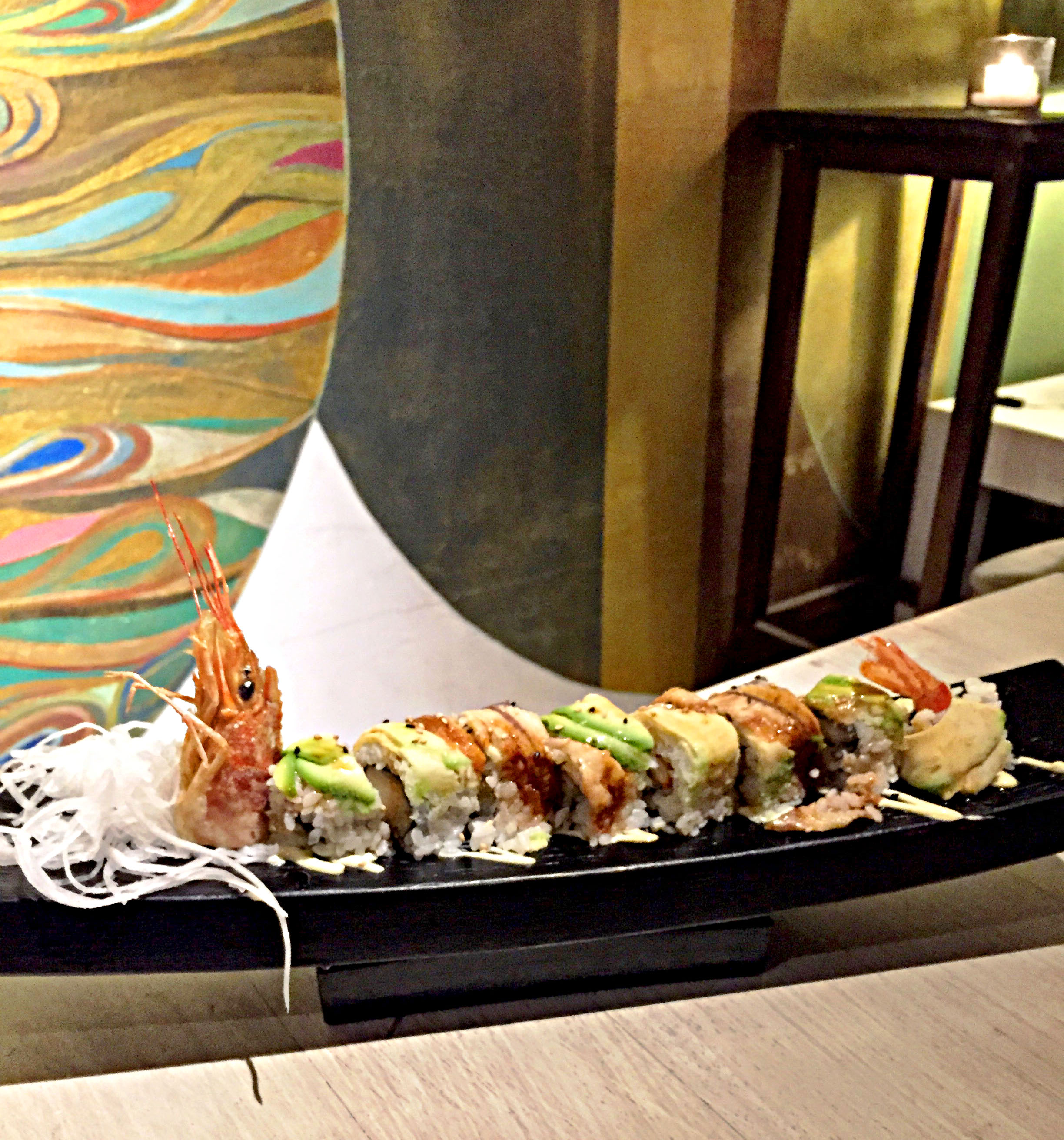NAGAI | IBIZA | JAPANESE FUSION | DRAGON ROLL | WE LOVE FOOD, IT'S ALL WE EAT