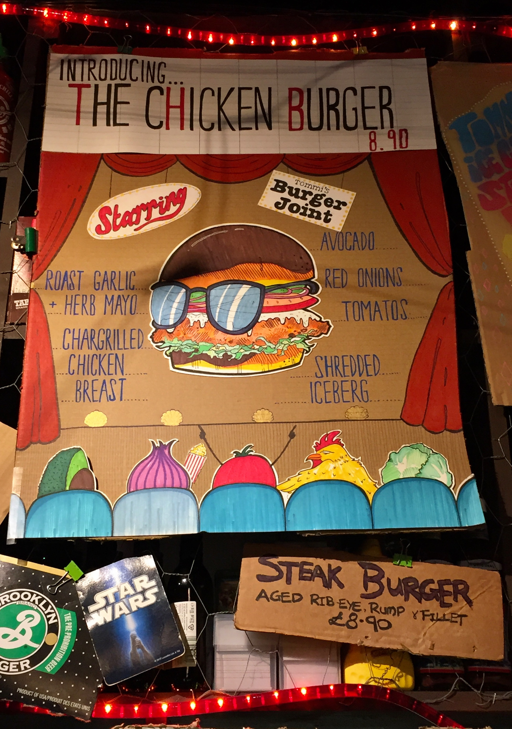 TOMMI'S BURGER JOINT | CHICKEN BURGER | WE LOVE FOOD, IT'S ALL WE EAT