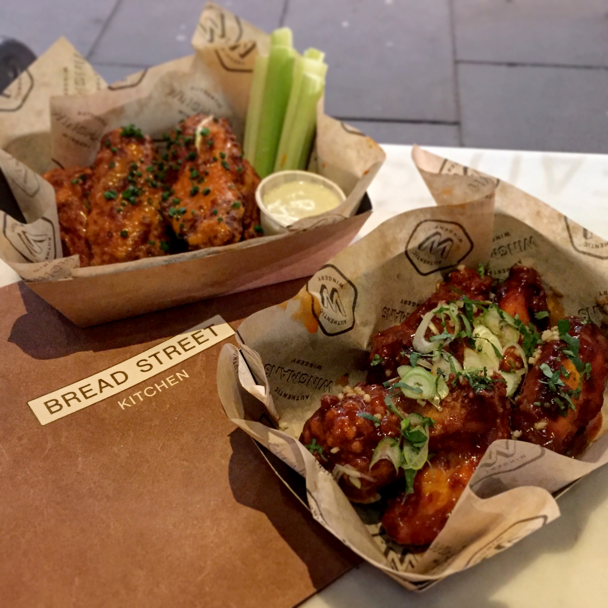 Bread street gives you wings wingmans bread st bar sessions for Food bar kitchen jkl