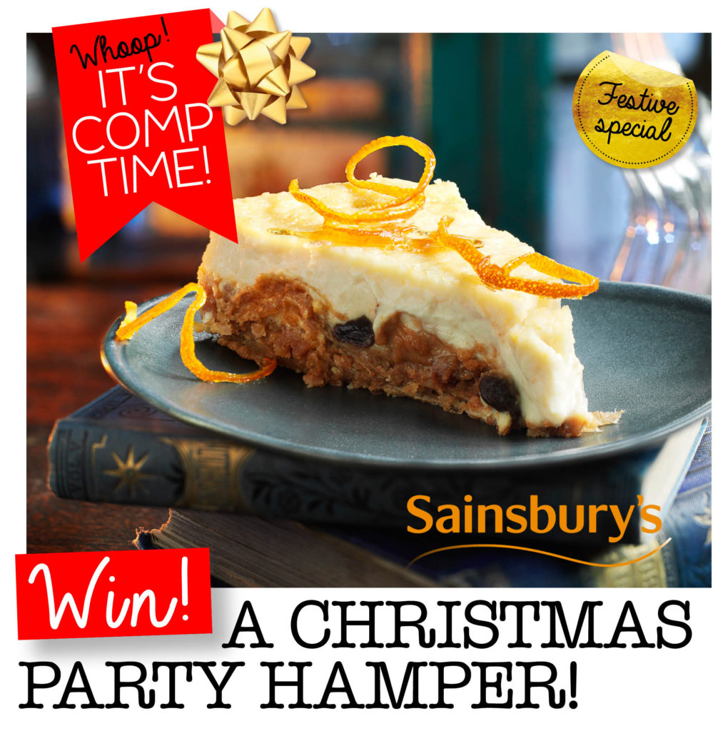 Win A Christmas Party Hamper From Sainsburys